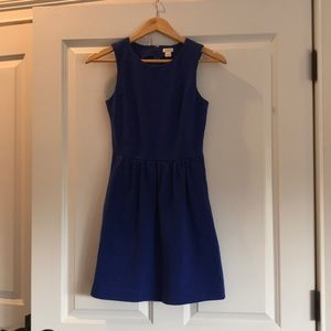 J-Crew royal blue dress